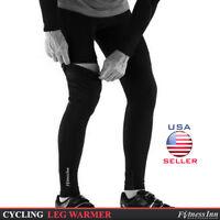 Cycling Cycle Leg Warmer Thermal Roubaix Winter Knee Running Warmers S/m - L/xl
