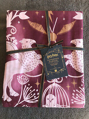 Pottery Barn Kids Harry Potter Patronus Damask Twin Duvet