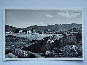 SAN-GOTTARDO-Svizzera-vecchia-cartolina