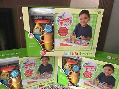 Toys R Us Just Like Home Kitchen Sink Create Imagine Kids Play Toy Real Water Ebay
