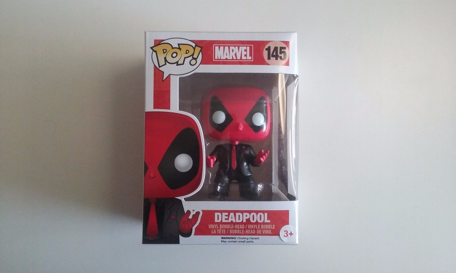 Funko ,pop,marvel ,deadpool,suit,neuf,145,dressed to kill