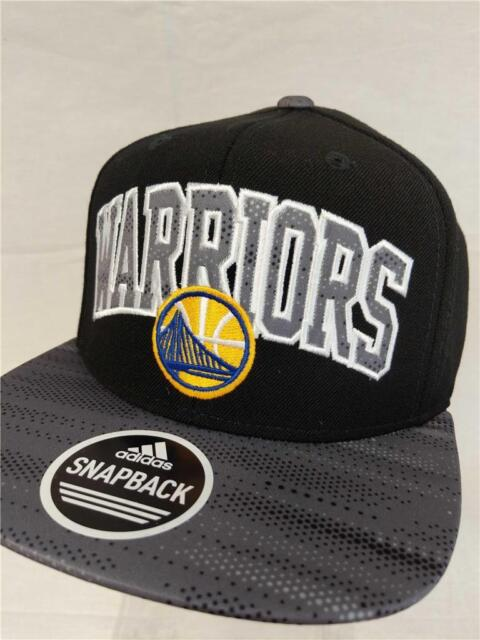4afdc0f17e6 New Golden State Warriors Mens Size OSFA Adidas Snapback Flatbrim Hat  26