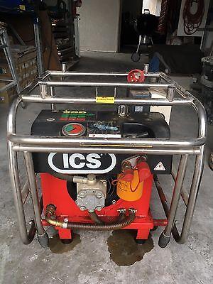 ICS Hydraulik Kettensäge 880 F4 & Hydraulikaggregat