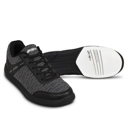 Mens KR Strikeforce Black//Steel Flyer Mesh Bowling Shoes Size 8