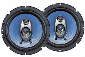 NEW-2-6-5-034-Car-Speakers-Pair-6-1-2-six-half-inch-3-way-4-ohm-Saturn-SL2-audio