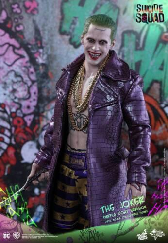 Jared Leto Joker Costume SQUADRA suicida Halloween Cosplay Cappotto Tutte le Dimensioni Disponibili