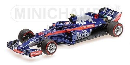 Minichamps F1 Red Bull Scuderia Tgold red Honda STR13 2018 Pierre Gasly 1 43