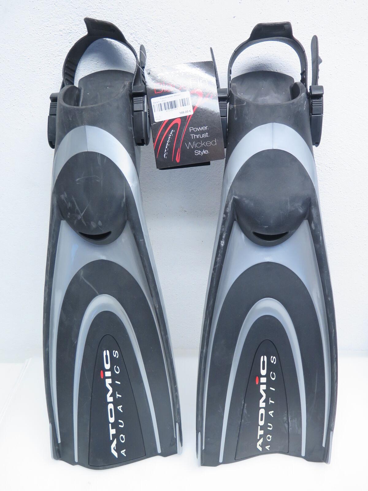 Atomic X1 X1 X1 Open Heel BladeFin Freiwasserflossen Offen Flossen Tauchen Gr S silber 16cee4