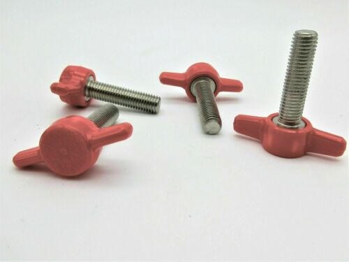 "5//16/""- 24 Fine Thread Various Sizes /& Lengths. SS Thumb Screws Wing Knob"