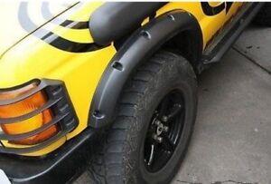 Defender-Range-Rover-Descubrimiento-2-034-Extensiones-de-arco-rueda-De-Plastico-Abs