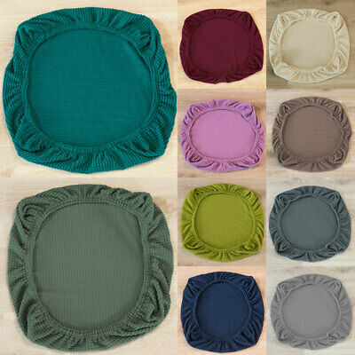 Office Chair Seat Cushion Cover, Stretch Seat Covers For Dining Room Chairs