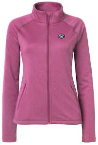 Mountain Horse Holiday Womens Tech Fleece - Dazzling Pink