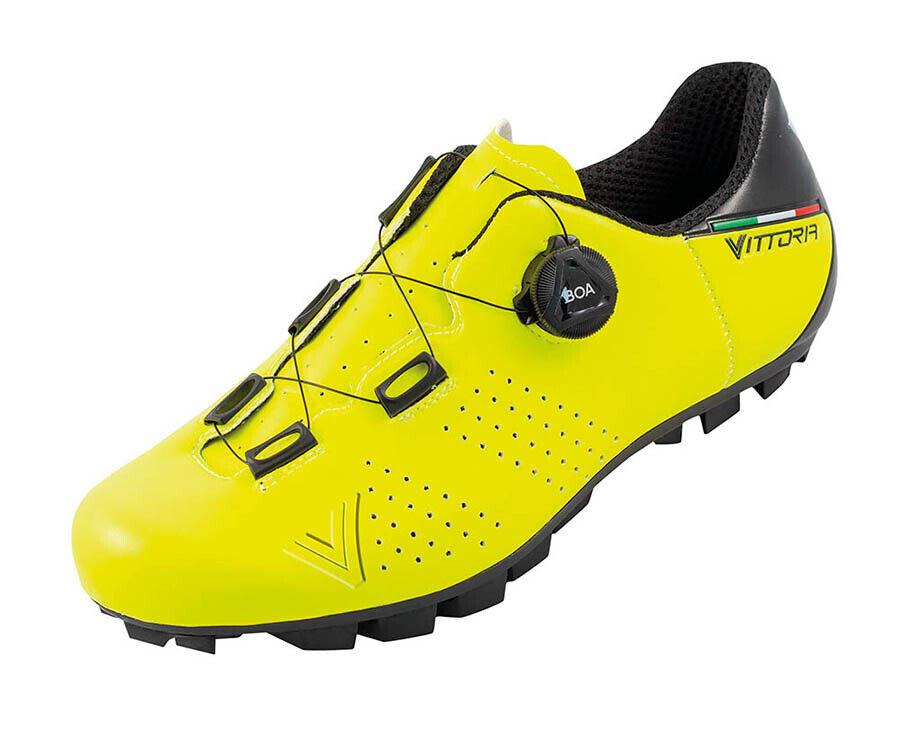 zapatos MTB vittoria alise 'boa amarillo fluo
