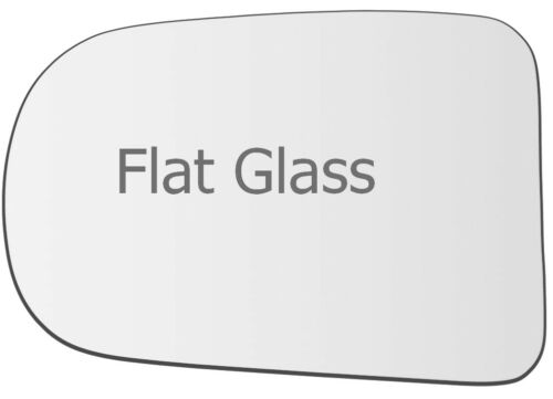 Wing Mirror Glass For Daihatsu Charade  Left Passenger Side