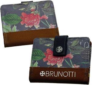 BRUNOTTI-Damen-Brieftasche-Geldboerse-Geldbeutel-Portemonnaie-Geldtasche-Stoff