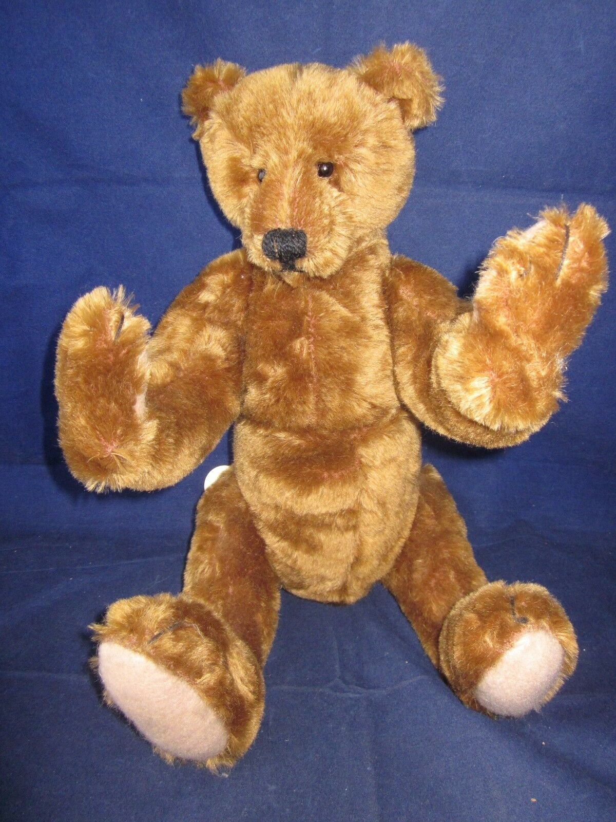 BEARLY THERE  E. P.  8 Jointed Teddy Bear LINDA SPIEGEL LE RARE TAG VINTAGE NEW