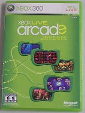 Xbox Live Arcade Compilation Disc (Xbox 360) MISSING MANUAL