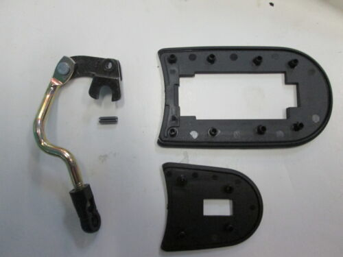 PORSCHE 968 OUTER DOOR HANDLE LINKAGE DOG LEG RIGHT WITH GASKETS NEW GENUINE