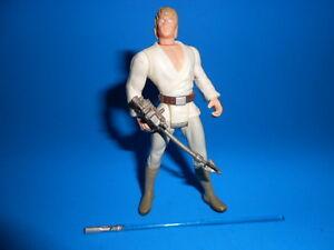 Star Wars 1995 Potf Vintage Style Luke Skywalker X-Wing Gear ~ Short Lightsaber