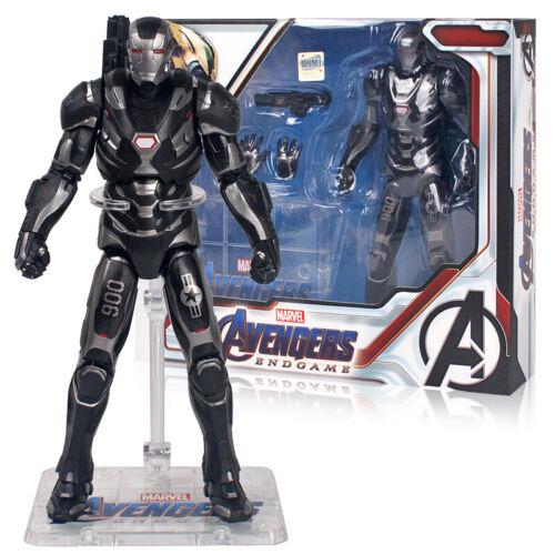 "Avengers Endgame Marvel Captain America Thor War Machine 7/"" Action Figure Toys"