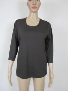 braun Mit Shirt Efixelle 48 Farbe Arm Rundhalsausschnitt Espresso Größe 4 3 855rSwdq