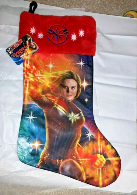 Avengers with Hulk Quilted Christmas Stocking