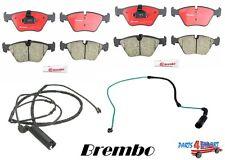 NEW Brembo Brake Pads & Wear Sensors Front & Rear BMW E46 330i 300ci 330xi X3