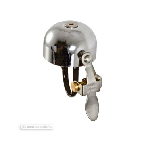 Made in Japan! ALL COLORS Crane Bells E-NE Classic Lever Strike Bicycle Bell