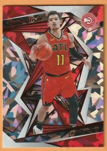 2019 Panini Revolution Trae Young Chinese New Year Red Ice Prizm Card #13