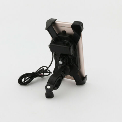 Motorcycle Phone Holder USB Charger For Honda CBR 250R 929 954 RR ST1100 1300 US