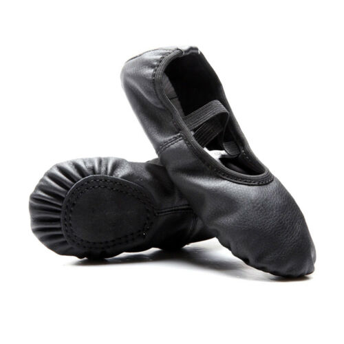 Brand NEW 10 Sizes Kid Girls Ballet Shoes Canvas Split Sole Gymnastic Yoga Dance