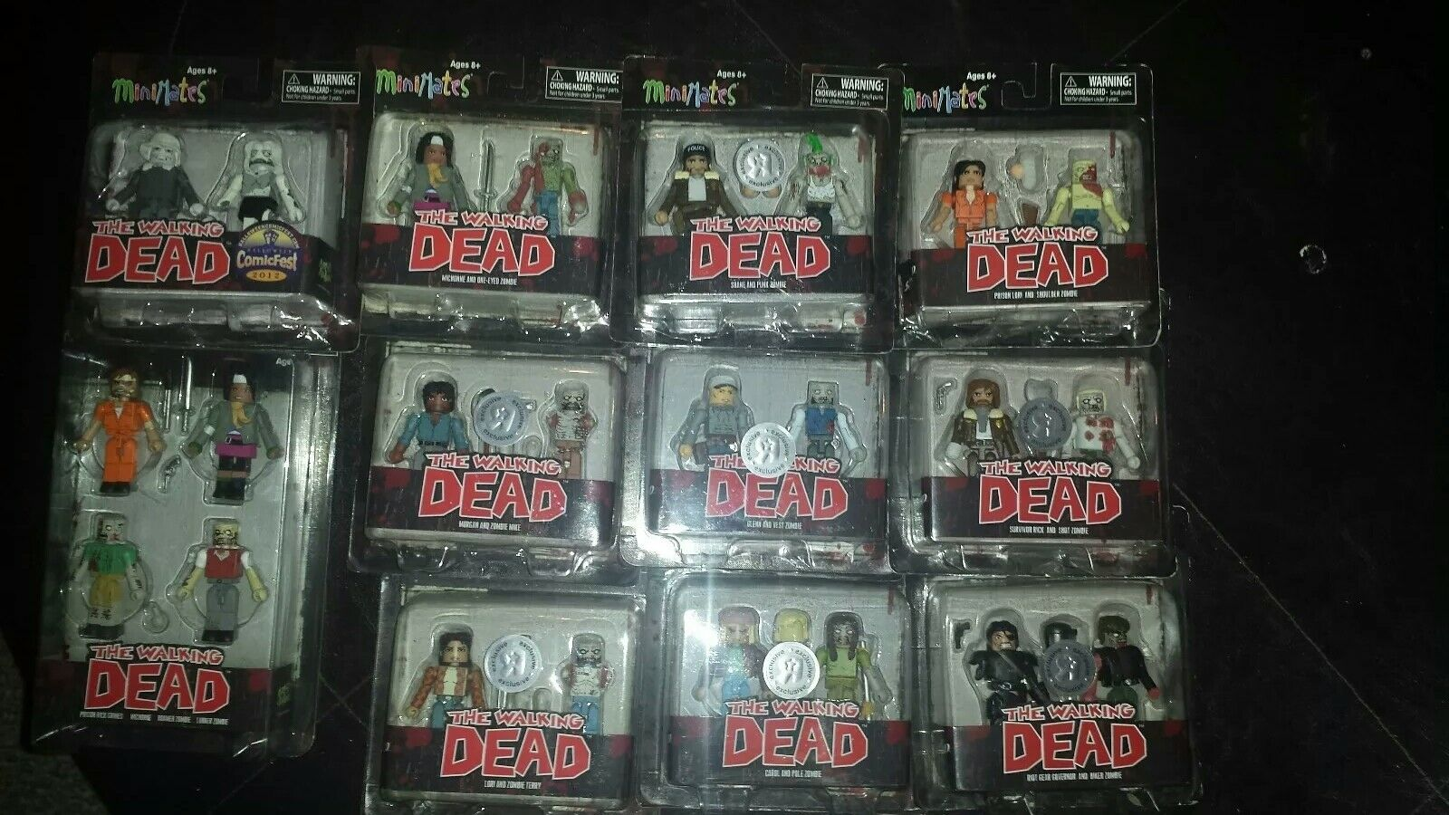 The The The walking dead minimates lot exclusives 0d80ed