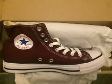 ecd66738a36bc2 CONVERSE CHUCK TAYLOR ALL STAR HI CANVAS MEN SHOES BURGUNDY 139784F SIZE  10.5