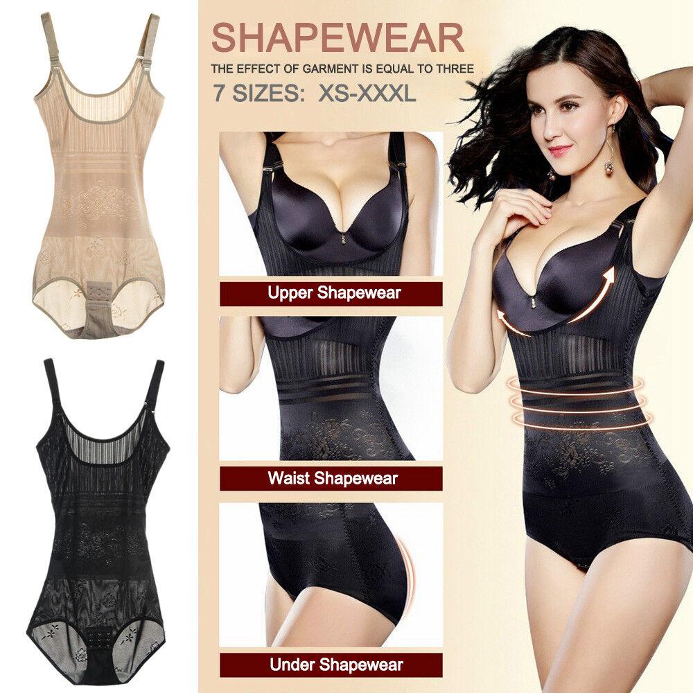 1400b1e7b405a Women Slim Body Shaper Underbust Corset Girdle Underwear Tummy ...