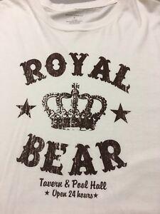 a89fa817 Image is loading Saddlebred-Royal-Bear-Tavern-Tshirt-Mens-Xl