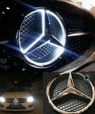 2011-2018MERCEDES BENZ LED WHITE LIGHT BlLED GRILL STAR LOGO BADGE EMBLEM Mirror