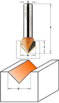 Grigio//Arancio in HW CMT 915.690.11 Fresa per Intagli a V 90/°