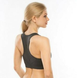 Padded Racer Back High Impact Seamless Sports Bra Active Wear-Work Out-Gym-Yoga