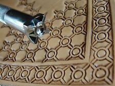 Stainless Steel Barry King - #3 Crosshair Circle Geometric Stamp (Leather Tool)