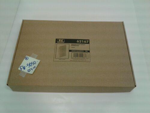 Lot of 10 Ez-Flo 62167 GFCI Outlet White 15AMP 125V AC 60Hz
