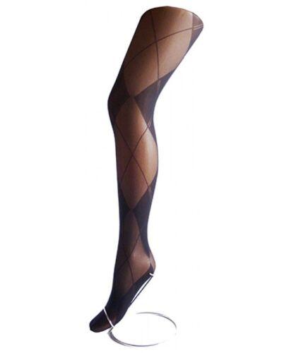 "up to 54/""hip//137cms Women Plus Size Black 40 Denier Opaque Design Tights"