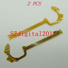 Obturador de lente de 2PCS/nuevo Flex Cable para Samsung SL202 PL50 PL51 NV30 NV40 Cámara