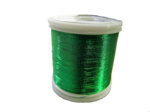 Olde Fly Shop Rod Building Metallic Thread 100YDS T vert #YC123