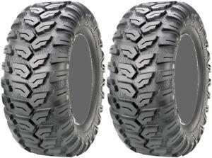 Pair-2-Maxxis-Ceros-27x11-15-ATV-Tire-Set-27x11x15-MU08-27-11-15