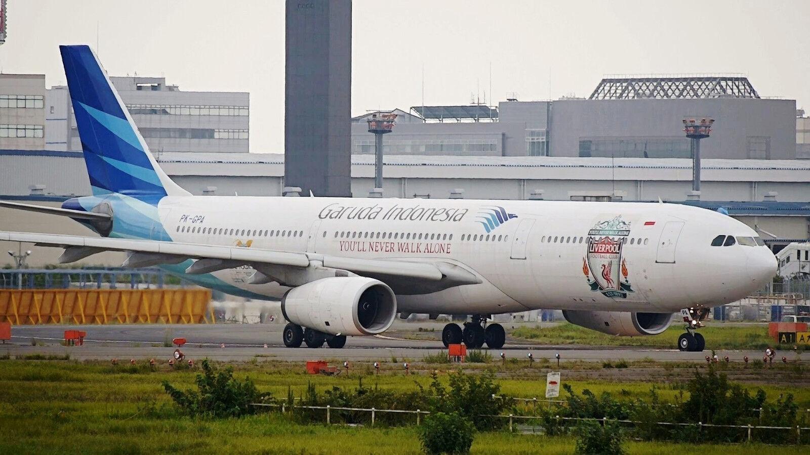 Jfox Jfa330013 1 200 Garuda Indonésie A330-341 2013 Lcf Tour Pk-Gpa