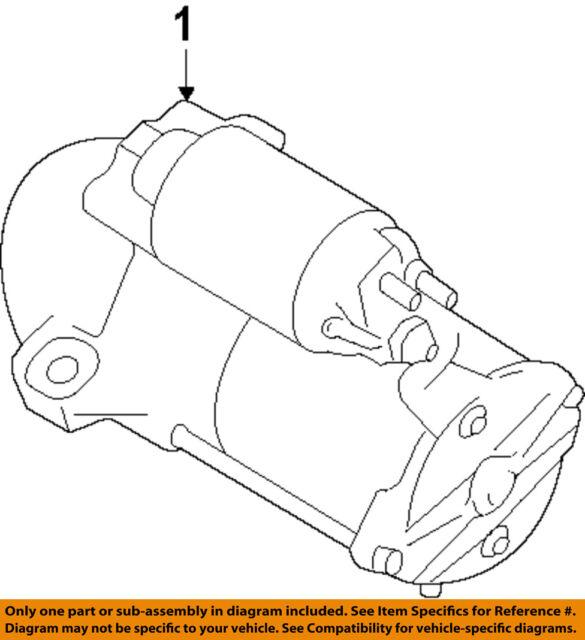 ford oem-starter motor 8g1z11002b