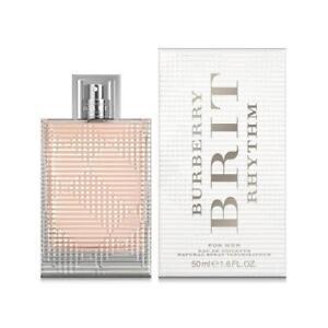 Burberry-Brit-Rhythm-Women-039-s-EDT-Spray-Eau-De-Toilette-50ml-1-7oz-New-in-Box