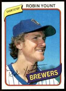 1980 Topps Robin Yount Milwaukee Brewers #265