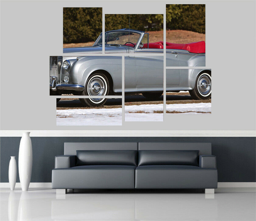 Rolls Royce Car Removable Self Adhesive Wall Picture Poster 1657