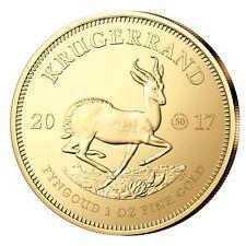 Krügerrand Gold 1 oz Südafrika 50 Jahre  Jubiläumsmünze 2017 Goldmünze 1 Unze